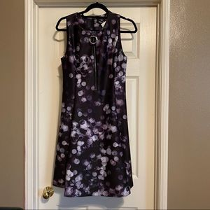 NWT DKNY Zippered Fit and Flare Cocktail Dress 8